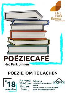 Het Park Vertelt Binnen, Poëzie om te lachen @ Oosterbeek | Gelderland | Nederland