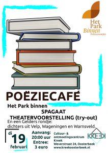 Het Park Vertelt Binnen: Theater en Gelderse Dichters @ Oosterbeek | Gelderland | Nederland