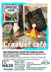 Creatief café: Kerstkaarten en kerstdecoratie maken