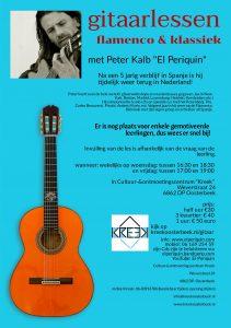 Gitaarlessen flamenco & klassiek