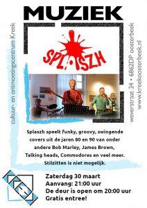 Gratis optreden van Splaszh