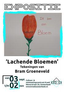 """Expositie """"Lachende Bloemen"""" van Bram Groeneveld"""