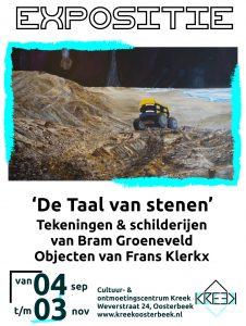 Expositie: Bram Groeneveld en Frans Klerkx