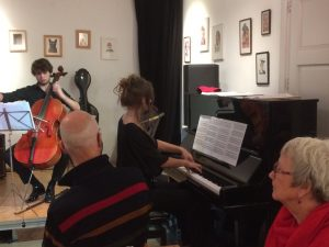 Klassiek piano lunchconcert door Sophie Hulshoff
