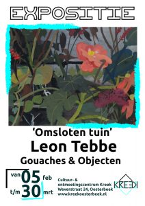 """Expositie """"Omsloten Tuin"""" van Leon Tebbe"""