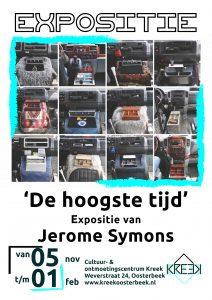 Expositie: De hoogste tijd! van Jerome Symons