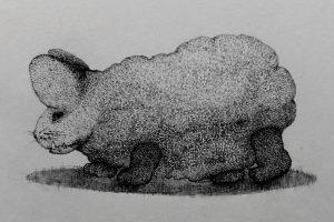 Pindarotstekeningen van Frans Klerkx